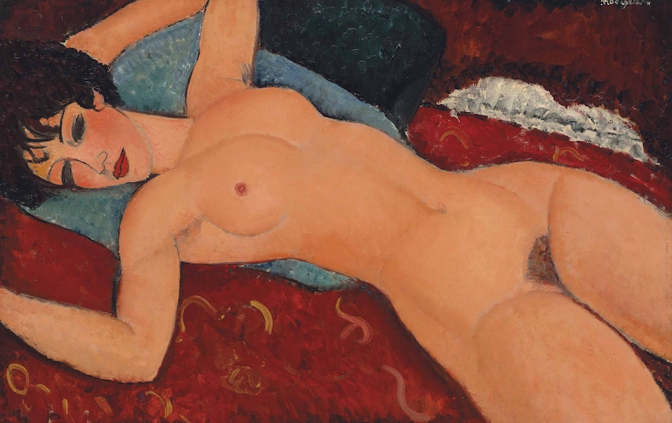 """Nu Couché"" by Modilgliani, one of the most expensive paintings in the world and everything but cheap."