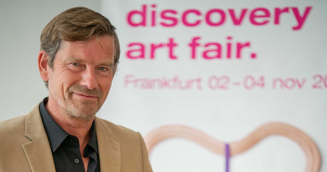 Messedirektor Joergen Golz ist begeistert vom Potential der Main-Metropole und freut sich auf die Discovery Art Fair 2019