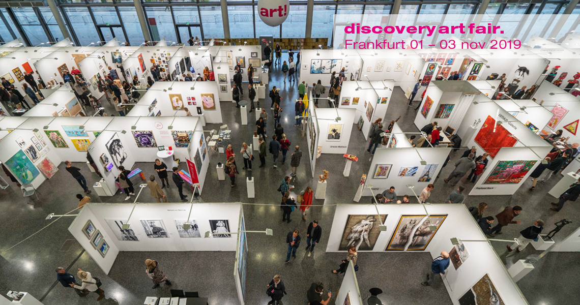 Discovery Art Fair Frankfurt, November 2019.Exhibition hall/gallery