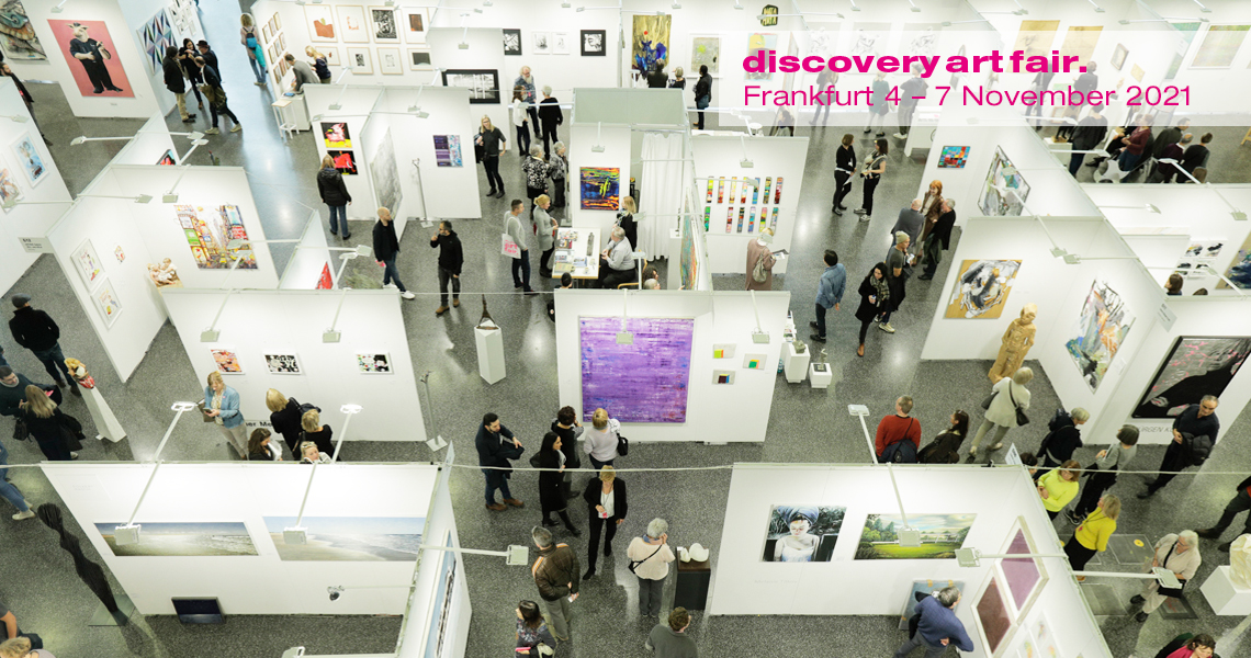 As the only contemporary art fair in the Rhine-Main region, Discovery Art Fair features national and international galleries, projects and artists.