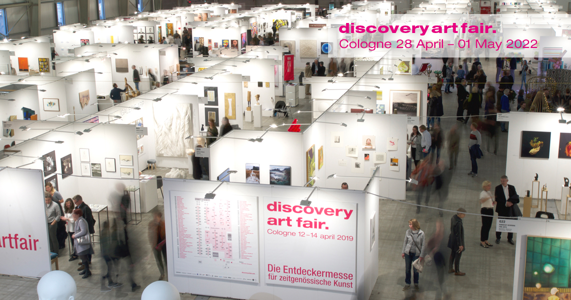 Discovery Art Fair in Cologne showcases emerging contemporary art from galleries, projects and individual artists.