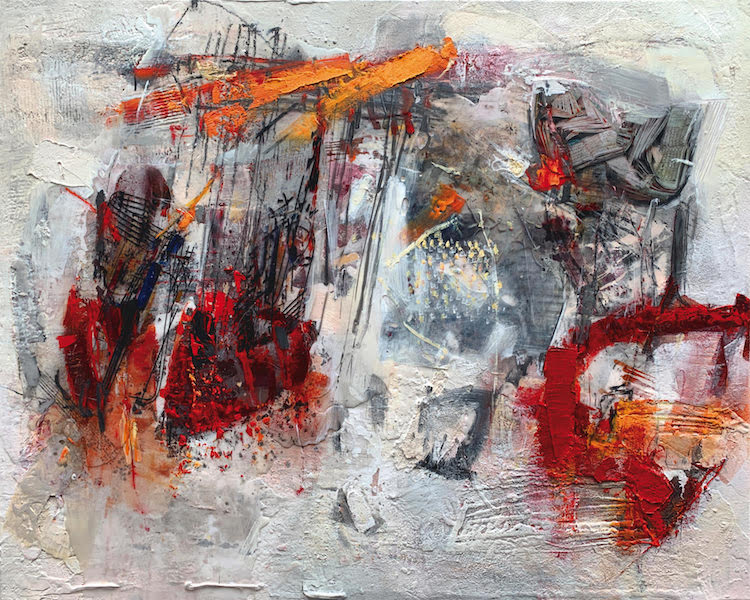 Georg Brandner abstract painting