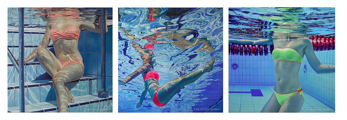 Jean-Pierre Kunkel pool paintings