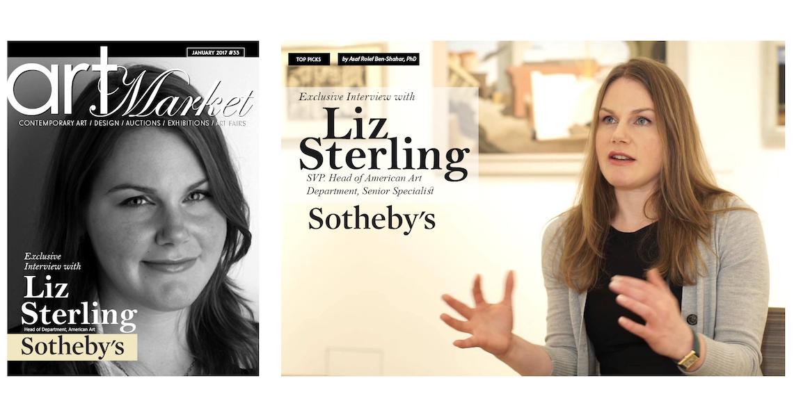 Liz Sterling Interview for the Art Market Magazine