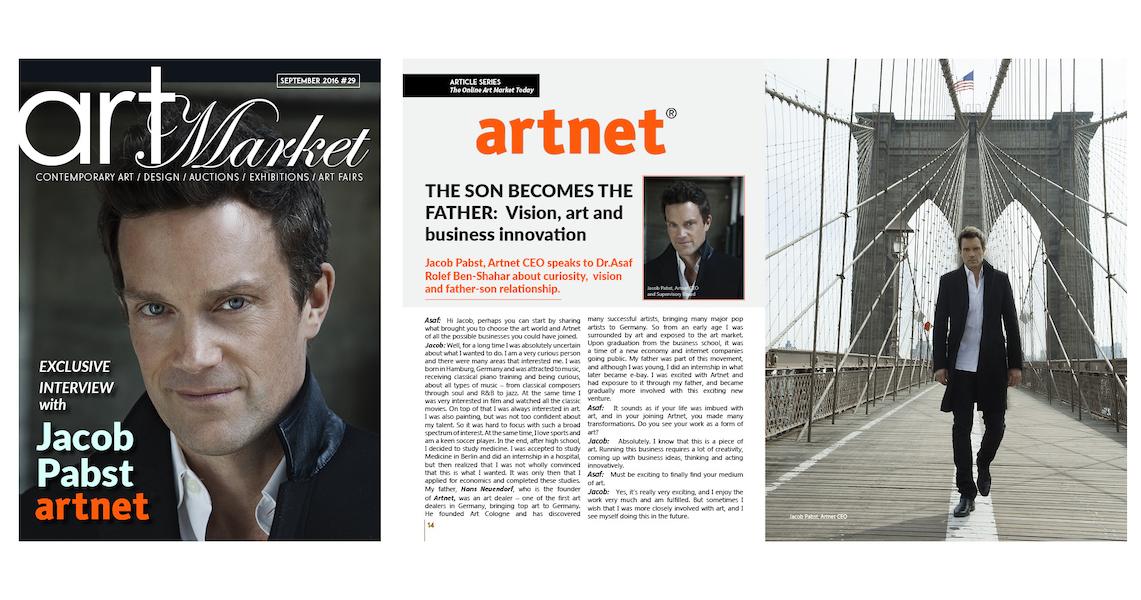 Jacob Pabst artnet interview